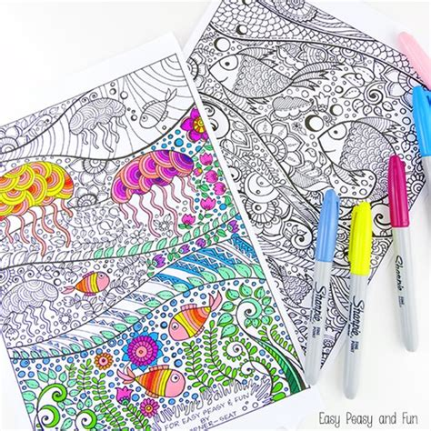 coloring pages for adults colored printable coloring pages for adults 15 free designs