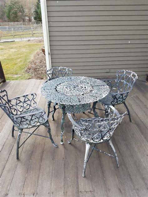 vintage patio furniture for sale vintage wrought iron patio furniture for sale classifieds