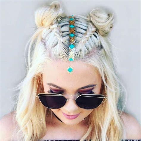 hairstyles for rave party peinados para cabello corto 2017 2018 tendencias de