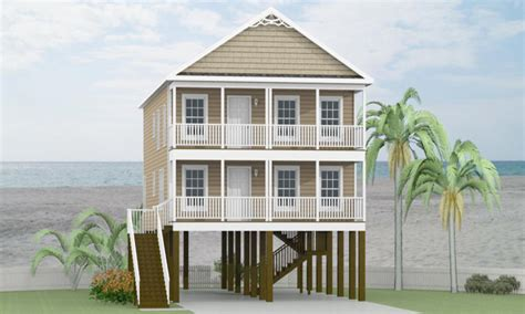 modular home plans on pilings