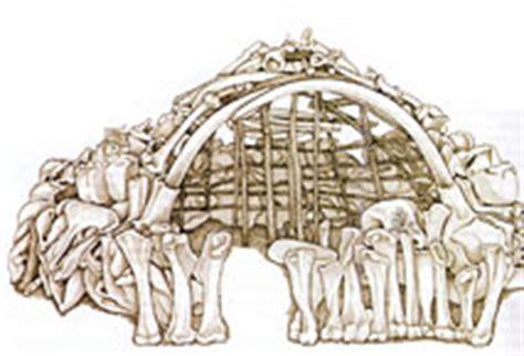 hutte en os de mammouth le mammouth bertrand roussel hominid 233 s