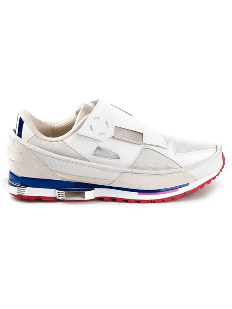 raf simmons sneakers adidas by raf simons rising sneakers in white for