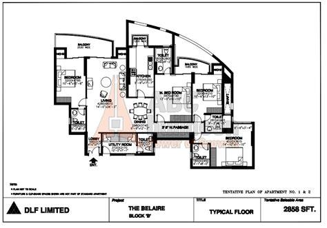dlf summit floor plan floorplan in dlf belaire floor plan floorplan in