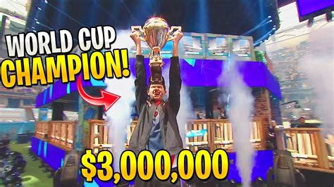 teen wins  million prize  fortnite world cup