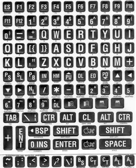 printable keyboard stickers large print large key keyboards boundlessat com