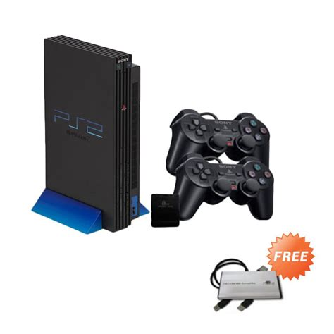 Ps2 Hdd 40gbfullgame 2 Stik Getar jual sony playstation 2 ps2 scph 10000 ref