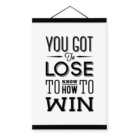typography quotes black and white minimalist black white motivational typography win quotes a4 prints poster wall picture