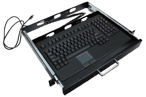 1u Keyboard Drawer by Buy Adesso 1u 19 Quot Rack Mount Drawer With Usb Touchpad