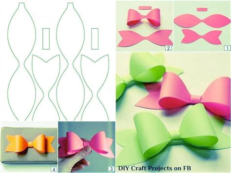 How To Make A Bow On Paper - paper bows trusper