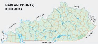 harlan ky map harlan county kentucky kentucky atlas and gazetteer