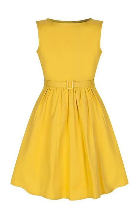 vintage style childrens children s vintage style sunshine yellow swing party dress