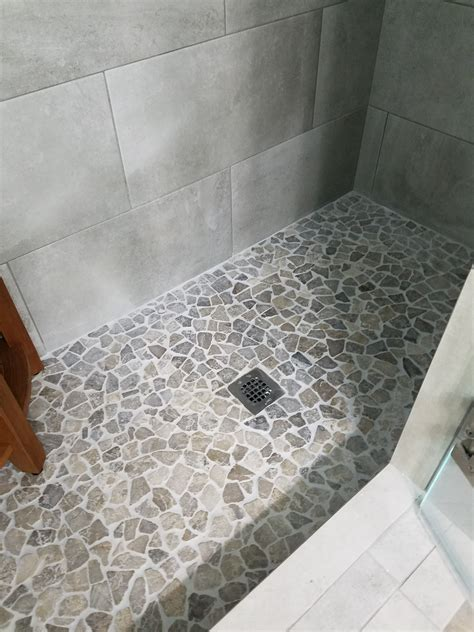 decoration appealing pebblestone flooring  stunning