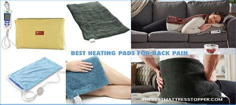 Best Mattress Pad For Back by Best Heating Pad 5 Best Heating Pads For Back 2017