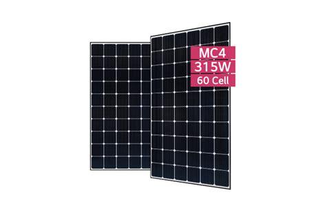 Solar Panels Monocrystalline 60 Cell 335w 350w - lg315n1c g4 lg neon 2 module forward energy