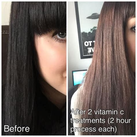 vitamin c and shoo to remove hair color hair colors