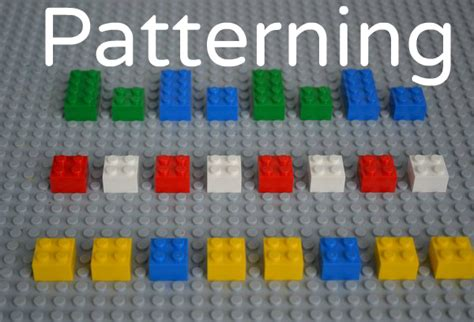 pattern game ideas lego math activities for preschoolers