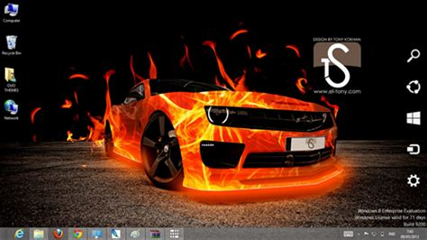 car themes for windows 8 1 free download fire car effect theme for windows 7 and 8 ouo themes