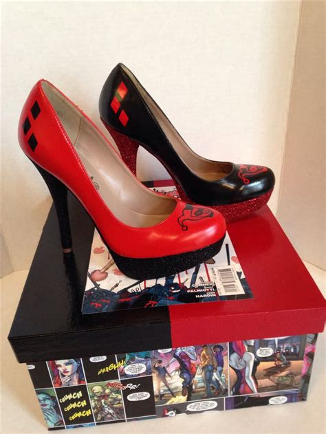 harley high heels harley quinn heels shoes the box harley
