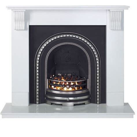 flat wall electric fireplace white inset electric suite electric