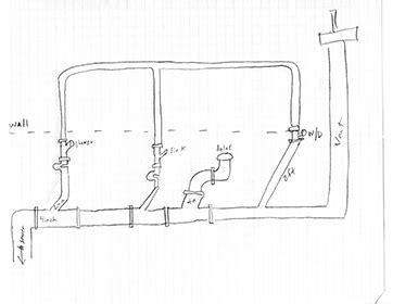wet venting basement bathroom venting basement bathroom basements ideas