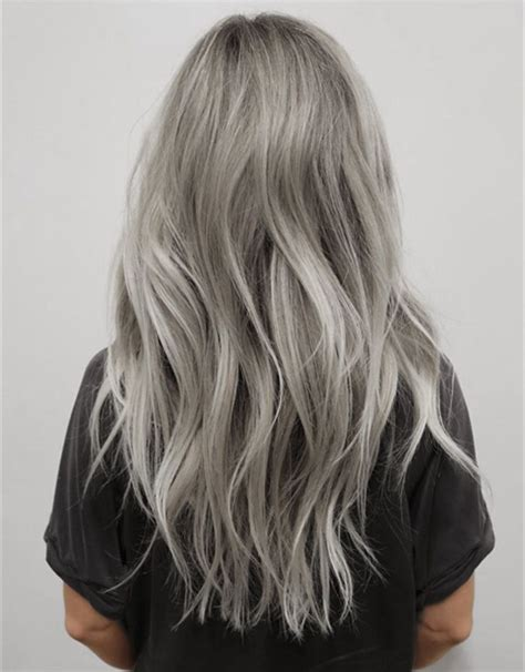 ash gray color ash gray hair color in 2016 amazing photo