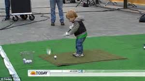 swinging meets meet the next tiger woods the 23 month old boy who swings