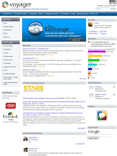 company intranet template corporate intranet exle world travel holdings