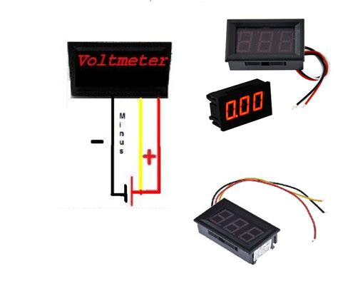 dc voltmeter wiring diagram dc free engine image for