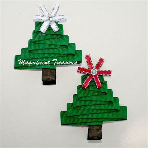 1000 images about christmas hair clips on pinterest