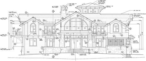 construction drawings required for your site built structures mountain architects hendricks architecture idaho blog