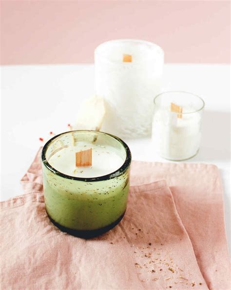 diy candles tea infused candles martha stewart