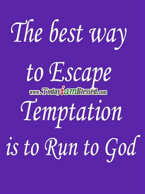 when i m tempted a promises of god novel volume 3 books the best way to escape temptation is to run to god