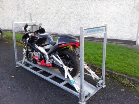 Motorrad Transport Transporter by New Method Of Bike Transport Around Europe