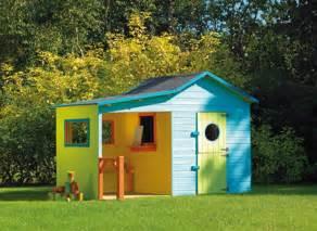cabane maisonnette en bois pour enfant hacienda jardideco