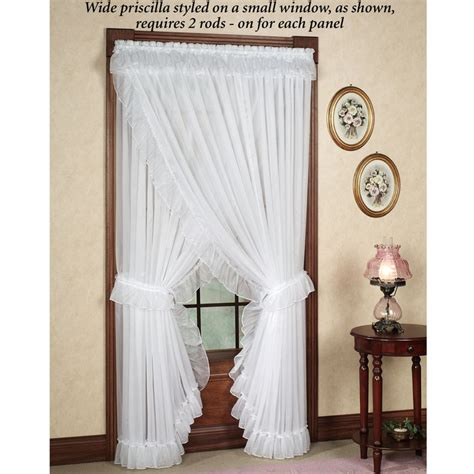 Priscilla Kitchen Curtains Best 25 Priscilla Curtains Ideas On House Of Priscilla White Lace Curtains And