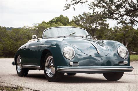 Porsche 356 Speedster by 1958 Porsche 356 Speedster Wheels Auctions Shows