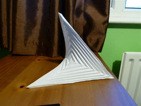 Hyperbolic Origami - hyperbolic paraboloid weresloth