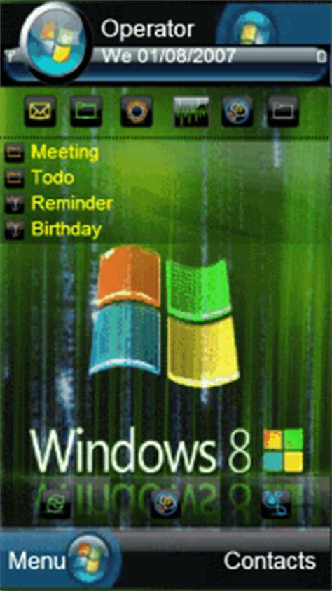 cartoon themes windows 8 animated windows8 matrix s60v5 theme