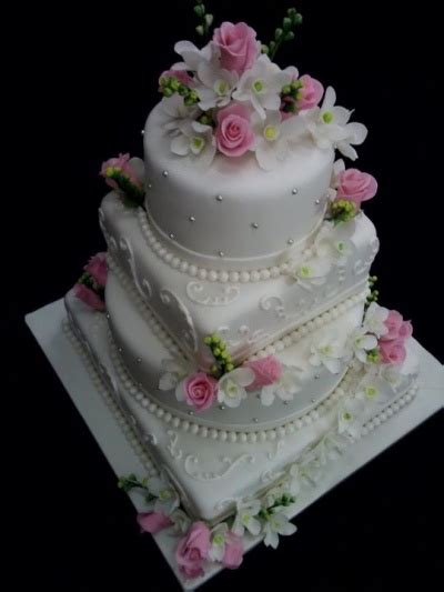 flowering wedding cake amazing colorful flower decorated cakes stylishmods