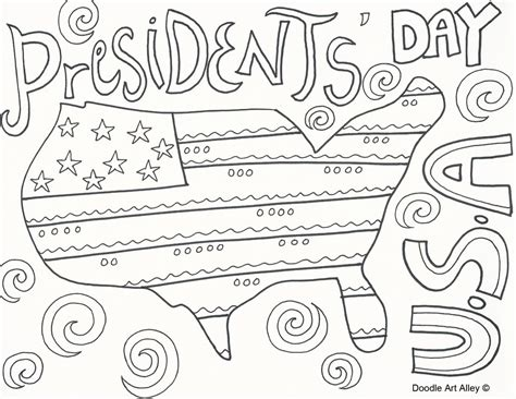 printable presidents day coloring pages murderthestout