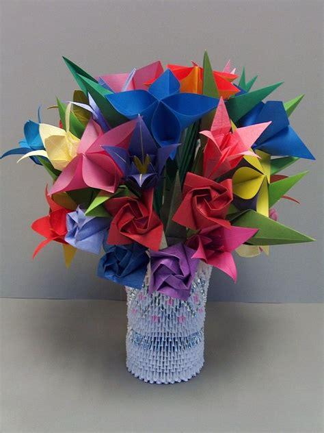 Best 3d Origami - 3d origami flower pot www pixshark images