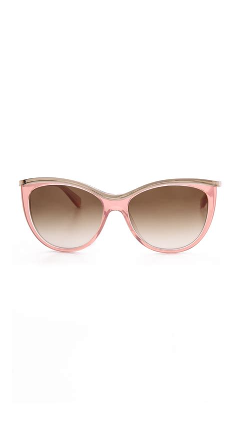 Kate Spade Sunnies 1 kate spade harmony sunglasses neutralbrown gradient in pink neutral brown gradient lyst