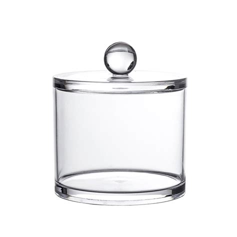 Acrylic Bathroom Storage Showerdrape Serene Storage Jar