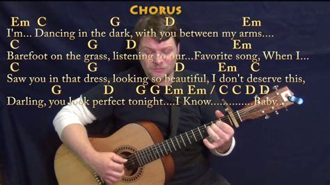 ed sheeran perfect chords no capo perfect ed sheeran fingerstyle guitar cover lesson with