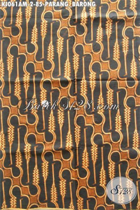 Kain Batik Murah Meriah batik kain klasik parang barong batik halus istimewa