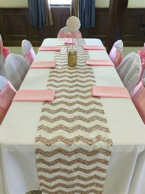 baby girl shower table setting baby shower pinterest pearl ball table centerpiece pink gold glitter pearls