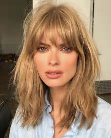 hairstyles with light bangs 25 best blonde hair fringe ideas on pinterest blonde