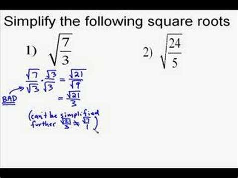 radical how to transform yourself from the inside out books a19 6 simplifying square roots with fractions