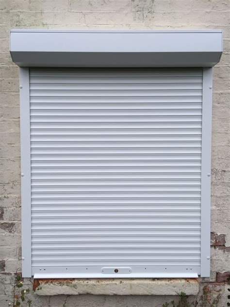 uk shutters white domestic security shutters fitted in oxford
