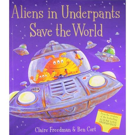libro saving the world aliens in underpants save the world english wooks